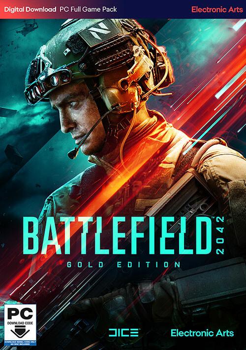 Battlefield 2042 Gold Edition - Cover / Packshot