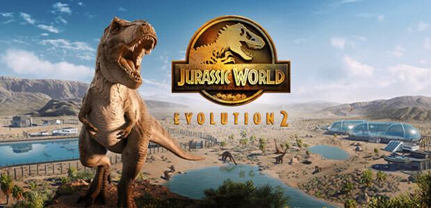 Jurassic World Evolution 2 - Cover / Packshot