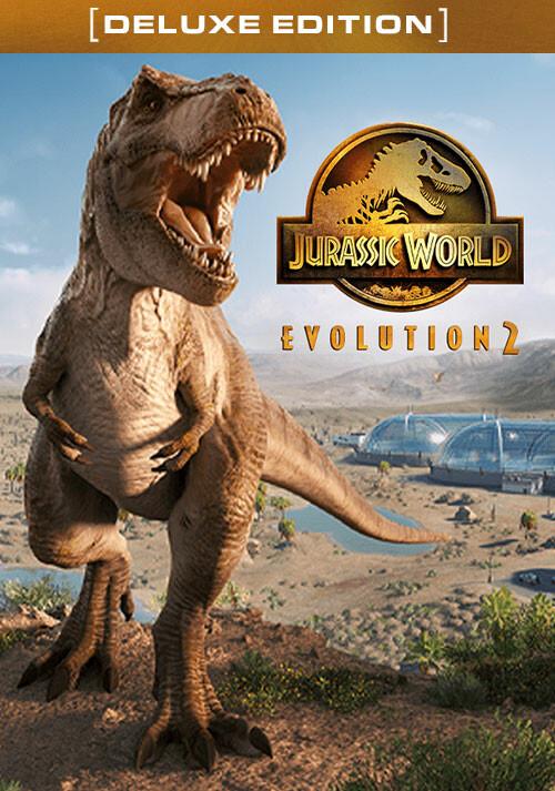 Jurassic World Evolution 2 Deluxe Edition - Cover / Packshot