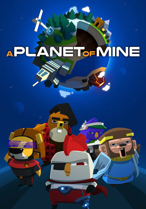 A Planet of Mine - Cover / Packshot