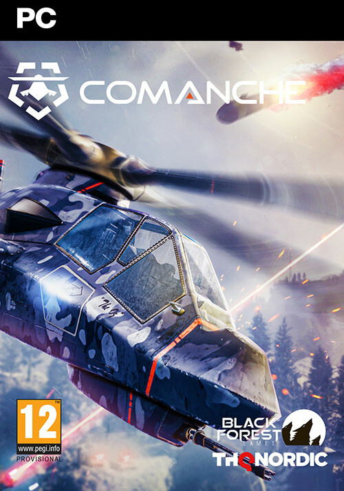 Comanche - Cover / Packshot