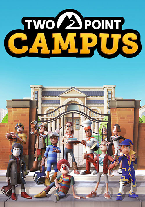 Two Point Campus - Cover / Packshot