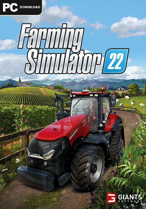 Farming Simulator 22 (Steam) - Cover / Packshot