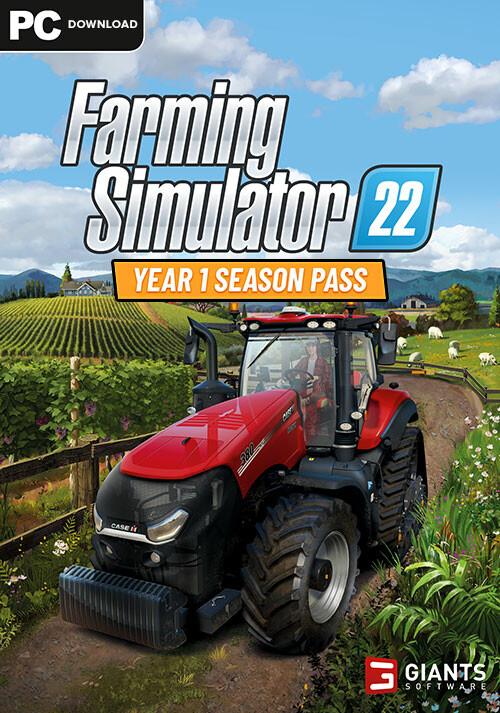Farming Simulator 22 - Year 1 Season Pass (Steam) - Cover / Packshot