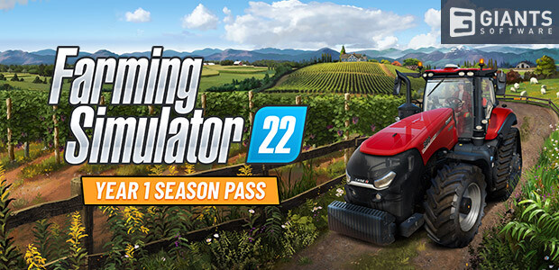 Farming Simulator 22 - Year 1 Season Pass (Giants) - Cover / Packshot