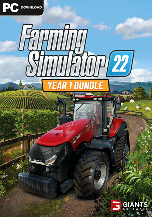 Farming Simulator 22 - Year 1 Bundle (Steam) - Cover / Packshot