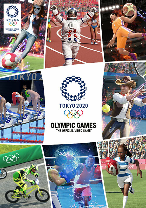 Olympic Games Tokyo 2020 – The Official Video Game™ - Cover / Packshot
