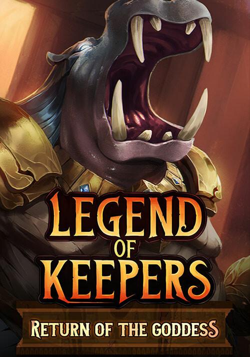 Legend of Keepers: Return of the Goddess - Cover / Packshot