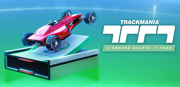 Trackmania – Standard Access 1 year - Cover / Packshot