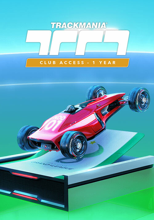 Trackmania – Club Access 1 year - Cover / Packshot