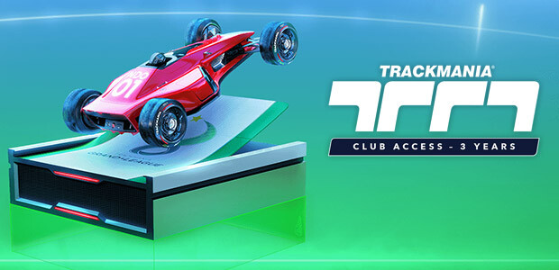 Trackmania – Club Access 3 years - Cover / Packshot