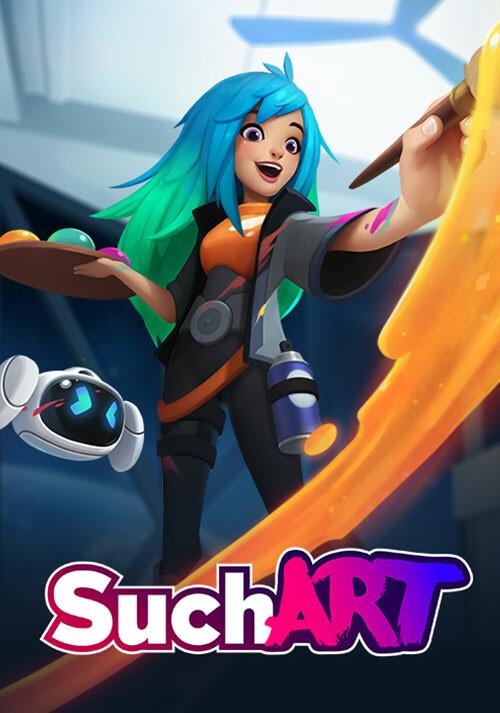 SuchArt: Genius Artist Simulator - Cover / Packshot