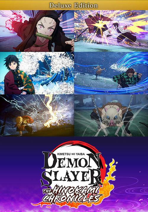Demon Slayer -Kimetsu no Yaiba- The Hinokami Chronicles Digital Deluxe Edition - Cover / Packshot