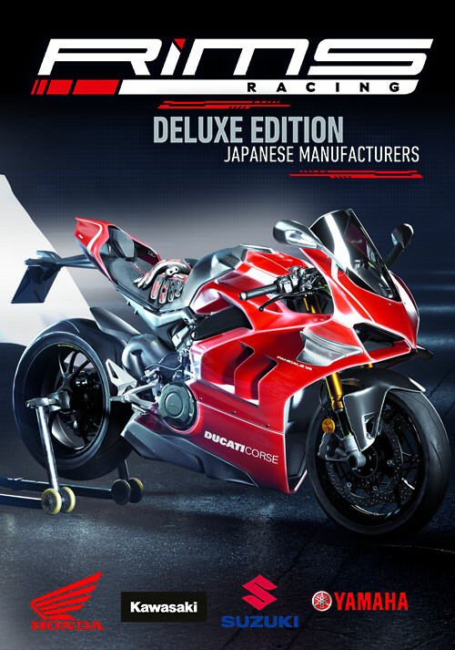 RiMS Racing - Japanese Manufacturers Deluxe Edition - Cover / Packshot