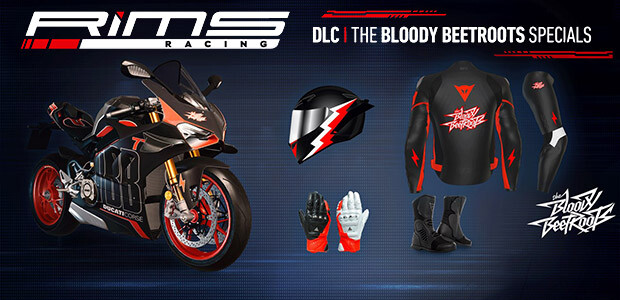RiMS Racing - The Bloody Beetroots Specials - Cover / Packshot