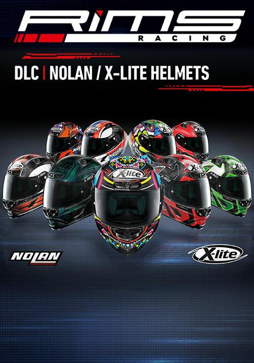 RiMS Racing - Nolan X-LITE Helmets - Cover / Packshot
