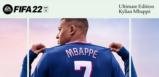FIFA 22 Ultimate Edition - Cover / Packshot