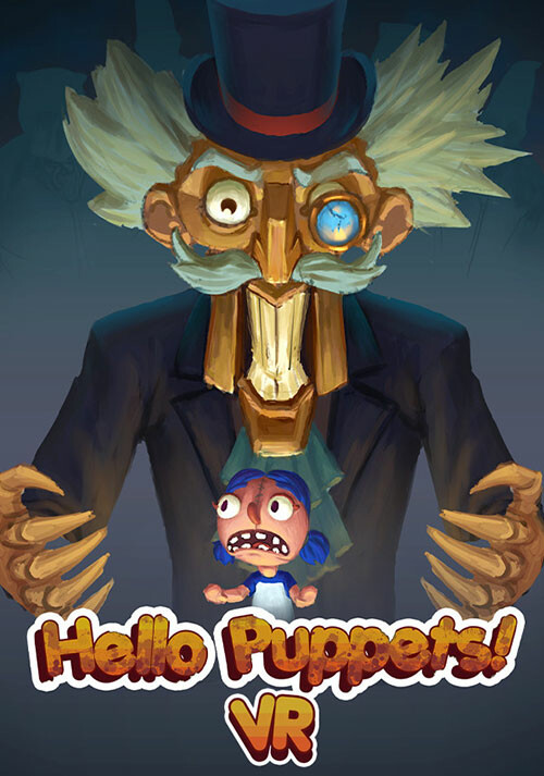 Hello Puppets! VR - Cover / Packshot
