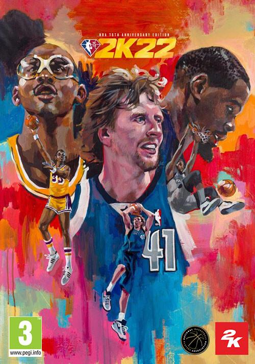 NBA 2K22: NBA 75th Anniversary Edition - Cover / Packshot