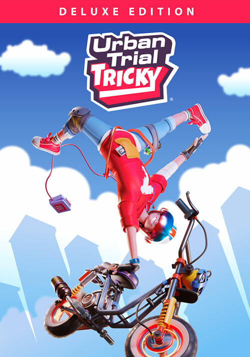 Urban Trial Tricky Deluxe Edition - Cover / Packshot