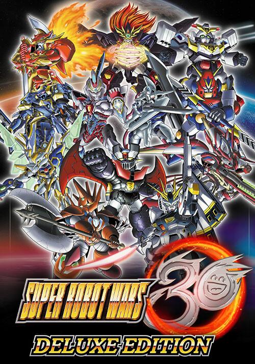 Super Robot Wars 30 - Deluxe Edition - Cover / Packshot