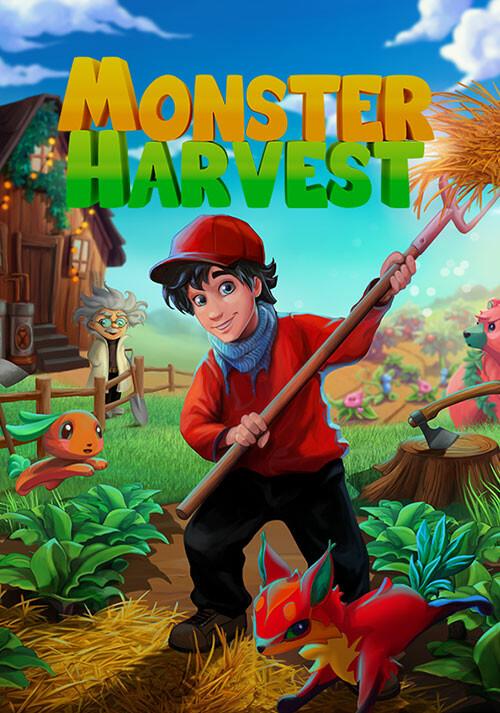 Monster Harvest - Cover / Packshot