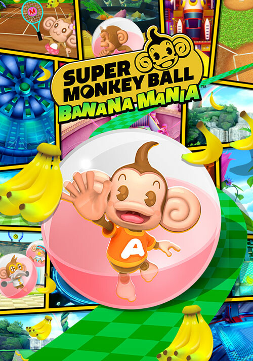 Super Monkey Ball Banana Mania - Cover / Packshot