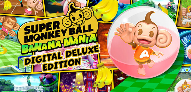 Super Monkey Ball Banana Mania Digital Deluxe Edition - Cover / Packshot