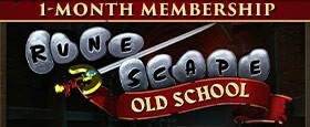 Old School RuneScape - Abonnement 1 Mois
