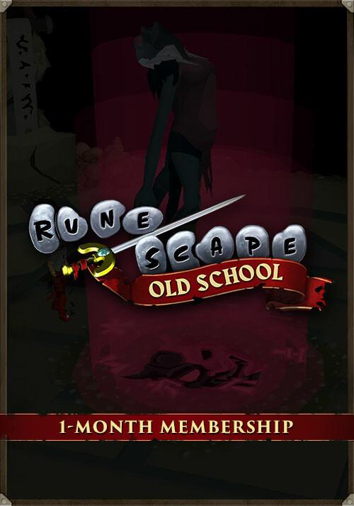Old School RuneScape 1-Month Membership - Cover / Packshot
