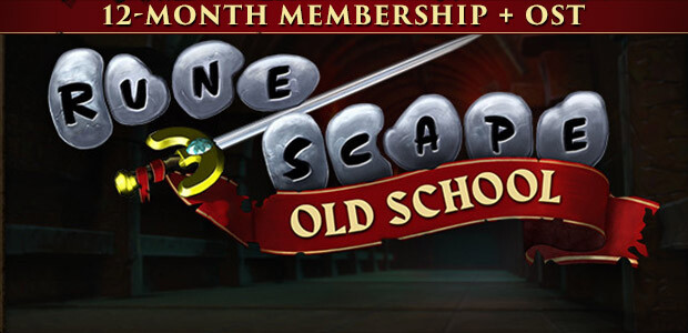 Old School RuneScape 12-Month Membership + OST - Cover / Packshot
