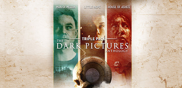 The Dark Pictures Anthology - Triple Pack - Cover / Packshot