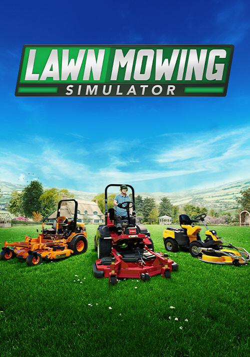 Lawn Mowing Simulator - Cover / Packshot