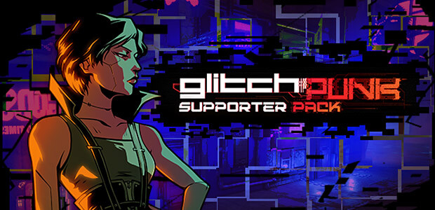 Glitchpunk - Supporter Pack - Cover / Packshot