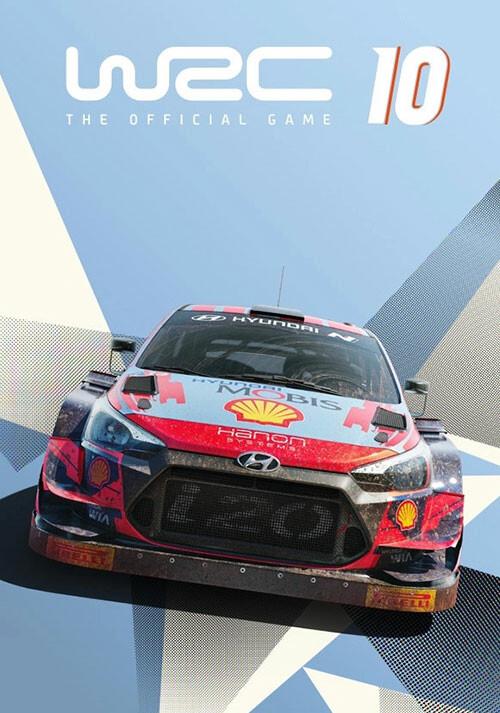 WRC 10 FIA World Rally Championship - Cover / Packshot