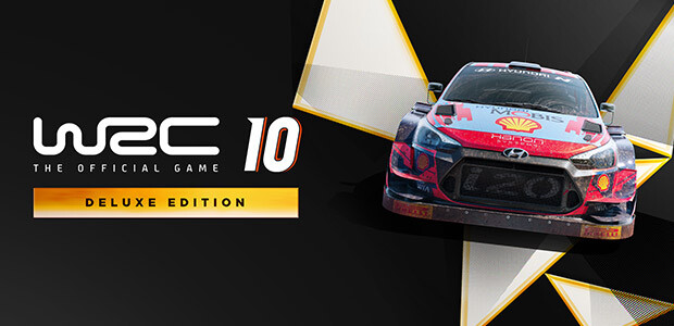 WRC 10 Deluxe Edition - Cover / Packshot