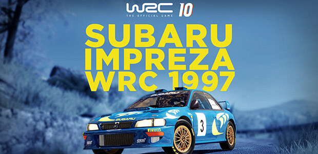 WRC 10 Subaru Impreza WRC 1997 - Cover / Packshot