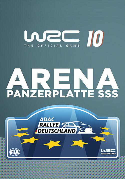 WRC 10 Arena Panzerplatte SSS - Cover / Packshot