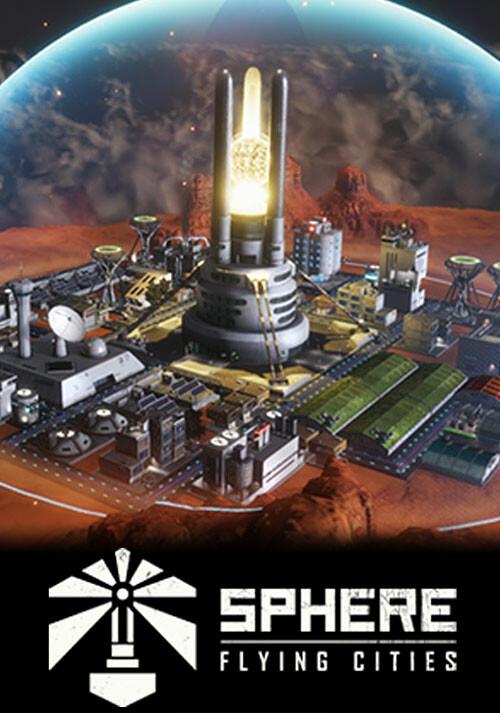 Sphere - Flying Cities - Cover / Packshot