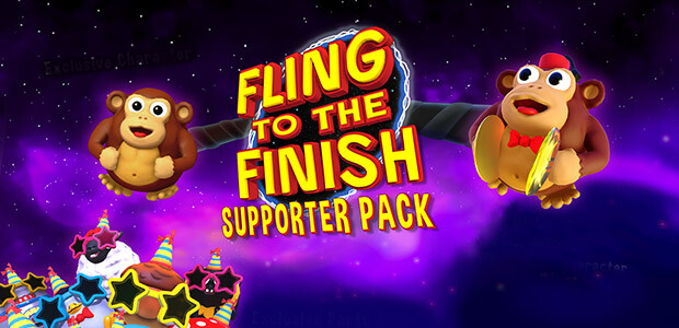 Fling to the Finish - Supporter Pack - Cover / Packshot