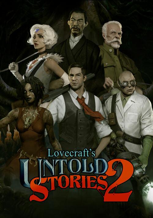 Lovecraft's Untold Stories 2 - Cover / Packshot