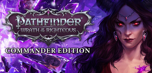 Pathfinder: Wrath of the Righteous - Commander Edition - Cover / Packshot