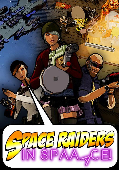 Space Raiders in Space - Cover / Packshot