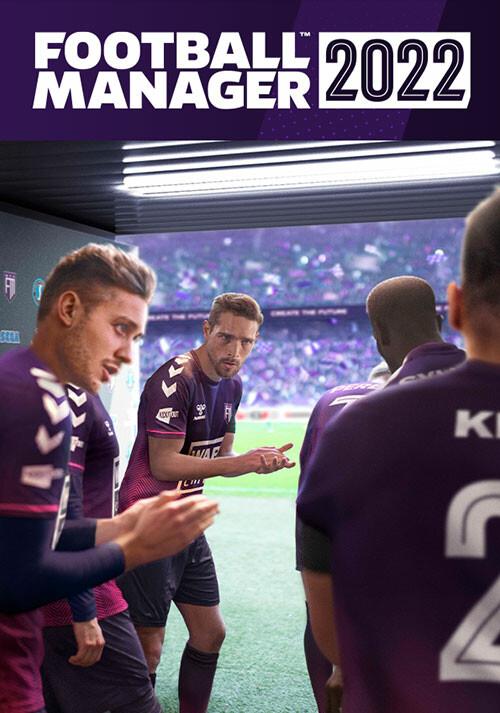 Football Manager 2022 - Cover / Packshot