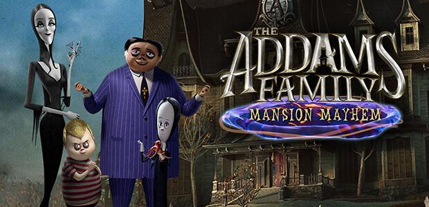 The Addams Family: Mansion Mayhem - Cover / Packshot