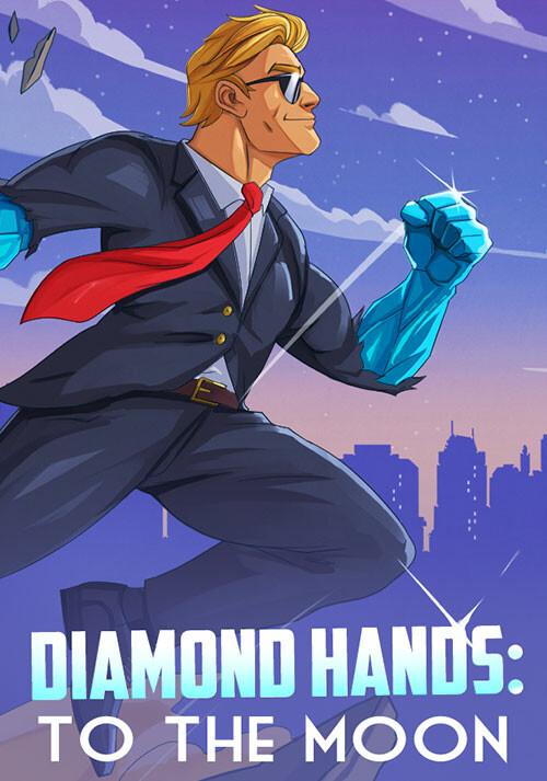Diamond Hands: To The Moon - Cover / Packshot