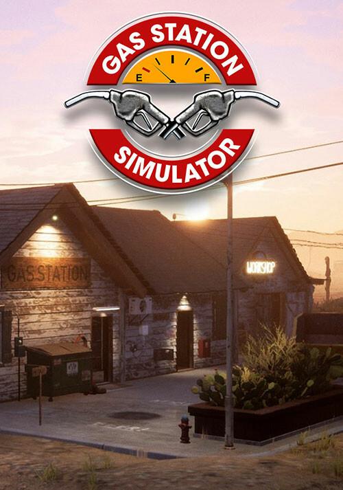Gas Station Simulator - Cover / Packshot