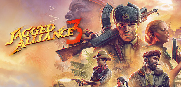Jagged Alliance 3 - Cover / Packshot