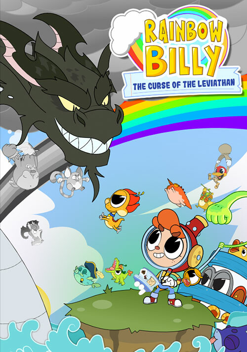Rainbow Billy: The Curse of the Leviathan - Cover / Packshot