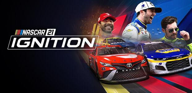 NASCAR 21: Ignition - Cover / Packshot